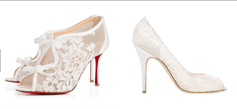 bridal shoes in Yorkshire